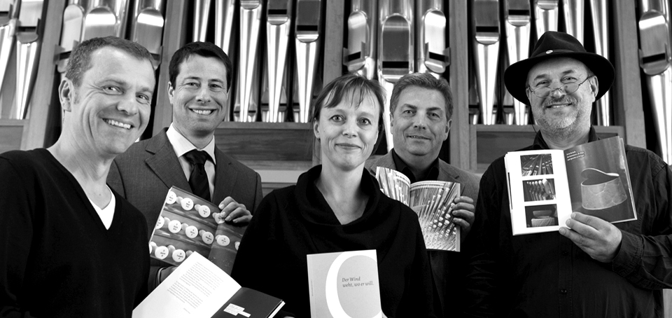 Von links: Christian Ring, Benedikt Kastrup, Kerstin Schröder, Hermann Ellersiek, Johannes Vetter (Foto: Martin Larius)